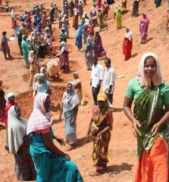 Is MGNREGA really meant to reduce the inequalities in India?