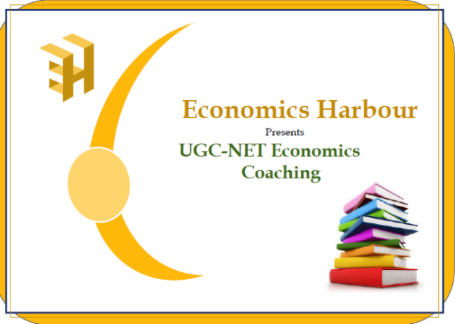 UGC NET Economics Study Material (SECOND EDITION)