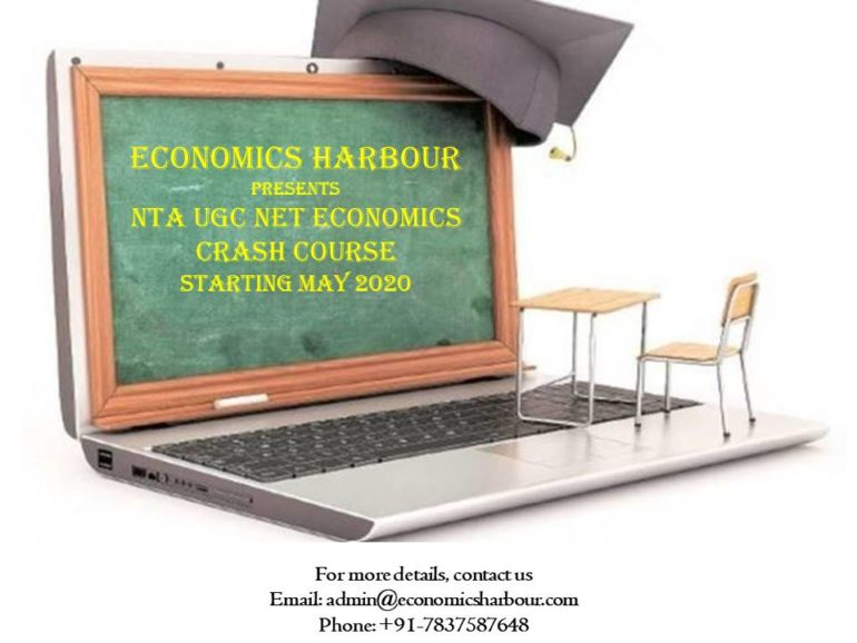 NTA UGC-NET Economics Crash Course