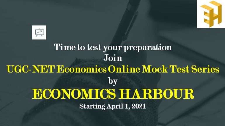 Protected: Mock Test Series for UGC NET Economics (May 2021)